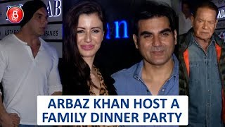 Arbaaz Khan Hosts Family Dinner At Hakkassan
