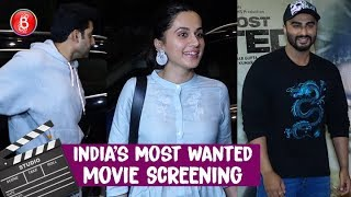 Indias Most Wanted Screening | Arjun Kapoor Radhika  Malaika Arora