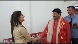 Sapna Chaudhari भी Manoj Tiwari  BJP Election