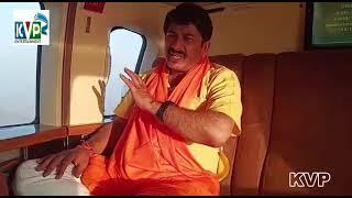 Manoj Tiwari ने जहाज में  औरइंटरव्यू