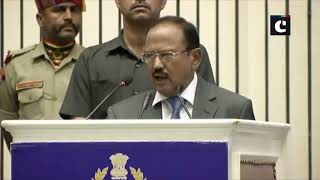NSA Ajit Doval attends 17th BSF Investiture Ceremony at Vigyan Bhawan