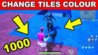 Change the Colour of 1000 Tiles - Downtown Challenges Guide