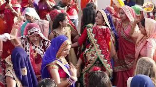शादी में चाक पुजते वक्त ओरते  ऐसे करती ह dj पे नृत्य SHEKHAWATI MARRIGE DANCE