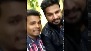 Pawan Dubey Sultanpur Ritesh Pandey आपस मे बात करते हुवे स्टूडियो में !! Jila Sultanpur Me Aa Jaibu