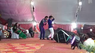 भोजपुरी के डांस स्टेज स्टार संदीप राज और अल्का झा और लाडो मधेसिया का लाइव शो