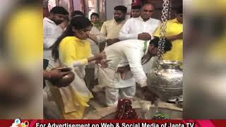 HARYANA CONGRESS अध्यक्ष ASHOK TANWAR ने SIRSA के सरसाई नाथ मंदिर में की पूजा अर्चना