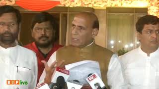 NDA is an alliance of diversity with an agenda of development: Shri Rajnath Singh