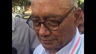 Lok Sabha Elections 2019: Digvijaya Singh in Bhopal ahead of poll results