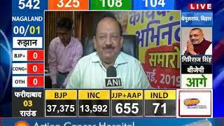 LOKSABHAELECTIONS2019 : GANDHI NAGAR सीट से BJP अध्यक्ष AMIT SHAH आगे