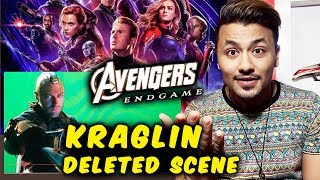 Avengers Endgame | Kraglins Scene Got CHOPPED From Final Cut