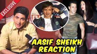 Salmans Bharat Co-Star Aasif Sheikh Reaction On Vivek Oberoi's Meme On Salman- Aishwarya