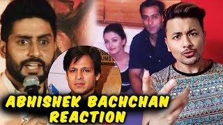 Abhishek Bachchan Reaction On Vivek Oberois Salman-Aishwarya Meme Controversy