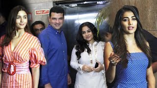 Alia Bhatt Vidya Balan Pooja Hegde Attends Special Screening Of India's Most Wanted