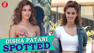 Disha Patani SPOTTED Promoting Her Upcoming Film Bharat'
