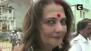 TMC's Moon Moon Sen trails from Asansol; reacts on election trends