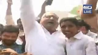Prudhvi Raj Hungama at Jagan Home | AP Ele Elections Result 2019 | Top Telugu TV