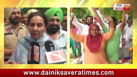 Praneet Kaur ने Workers के सिर बांधा जीत का सेहरा