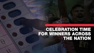 LS polls 2019 result: Celebration time for winners across the nation