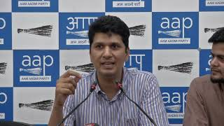 AAP Chief Spokesperson Congratulate PM Modi and BJP For Forming Full Majority Govt (English)