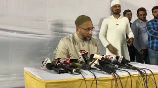 Asad Owaisi | Press Conference After Losing Seat In Bihar | DT NEWS