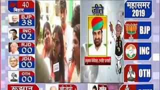 लोकसभा चुनाव 2019: राजस्थान बीजेपी कार्यालय में जश्न का माहौल
