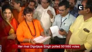 Pragya Singh wins Bhopal LS seat by over 3 lakh votes