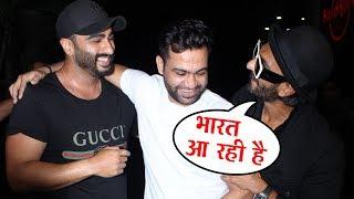 Ali Abbas Zafar And Ranveer Singh At Indias Most Wanted Screening