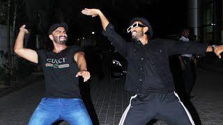 Arjun Kapoor And Ranveer Singhs Crazy Dance At India's Most Wanted Screening