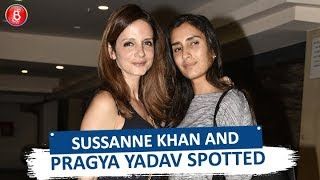 Sussanne Khan and Pragya Yadav Rock The After Party Look