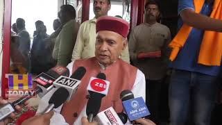 24 MAY N 2 Prem Kumar Dhumal expressed his gratitude to voters for the victory of Anurag Thakur