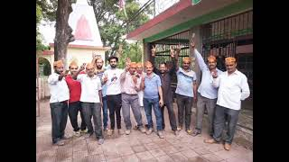24 MAY N 3 B 1  BJP workers celebrate the glorious victory of Anurag Thakur