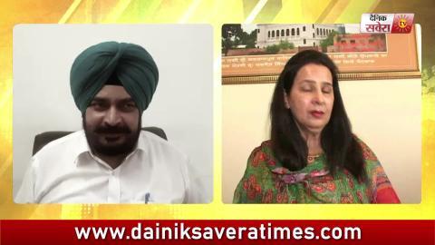 Video- Navjot Sidhu को लेकर Madam Sidhu और Congress के MInister आमने-सामने