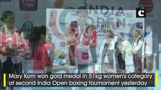 India Open boxing: Mary Kom, Shivva Thapa win gold medals