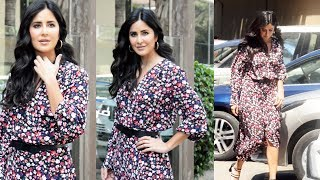 BHARAT Movie Promotion | Katrina Kaif Spotted At Juhu