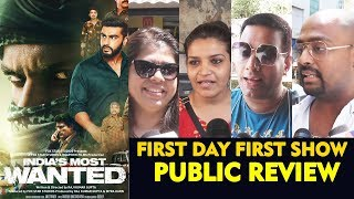 Indias Most Wanted PUBLIC REVIEW | First Day First Show | Arjun Kapoor