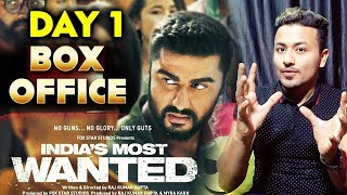 Indias Most Wanted | 1st Day Collection | Box Office Prediction | Arjun Kapoor