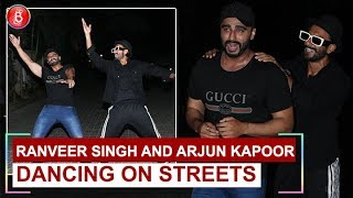 Ranveer Singh and Arjun Kapoors CRAZY Dance At Indias Most Wanted Screening