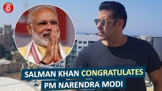 Salman Khan congratulates PM Narendra Modi on his decisive victory