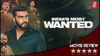 Indias Most Wanted MOVIE Review | Arjun Kapoor