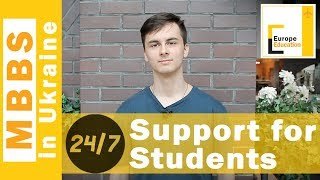 Round the year support to our students in Ukraine  Europe Education Ukraine Team