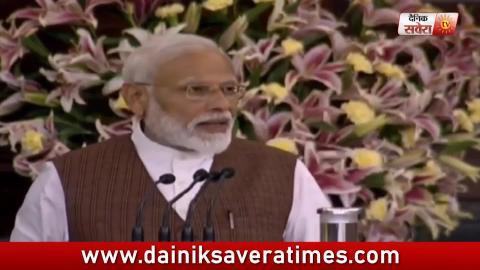 जीत के बाद PM Modi ने अपने भाषण में गुरु नानक देव जी के 550वे year की बात की