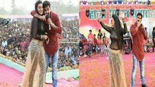 नही देखा होगा अक्षरा सिंह और पवन सिंह का ऐसा जलवा - Purniya Bihar Show Akshara,Pawan Singh