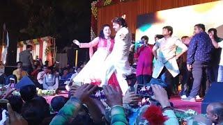 पवन सिंह ने जब निशा पांडेय के ढोरी में हाथ लगाया - Pawan Singh Superhit Show Bhagalpur Deoria
