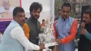नई दिल्ली में छठ पूजा पे खेशारी लाल ने धूम मचाया - Kheshari Lal New delhi Stage Show 13/11