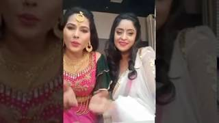 शुभी शर्मा और सीमा सिंह Facebook live | पवन सिंह सीमा सिंह शुभी शर्मा अक्षरा सिंह Facebook लाइव