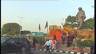 PM Narendra Modi pays floral tributes to Sardar Patel - 26 May 2019