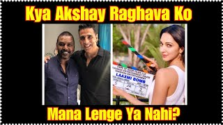 Akshay Kumar And His Laxmmi Bomb Team Meeting Raghava Lawrence In Chennai