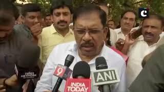 Karnataka Deputy CM inspects rain affected areas in Bengaluru