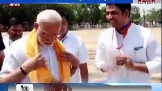 PM મોદી-શાહ પહોંચ્યા વારાણસી કાશી વિશ્વનાથનાં દર્શને - Mantavya News