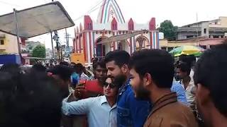 "Ranchi Film Shuting Time रितेश पांडेय अपने ""फैंस"" से हुए रूबरू  Film - Yara Teri yari"